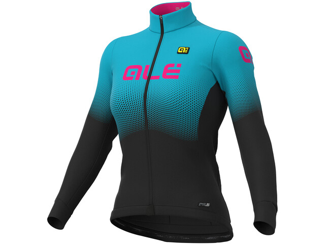 Alé Cycling PR-S Onda Micro Jersey Women black-light blue